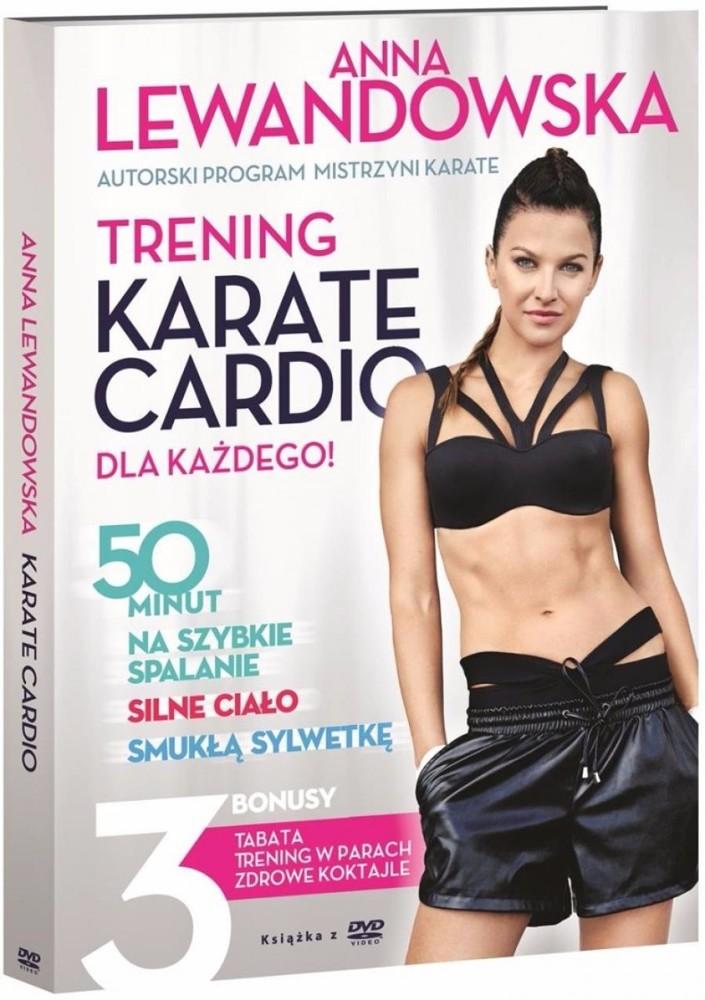 Chic Film instruktażowy DVD Anna Lewandowska Trening KARATE CARDIO
