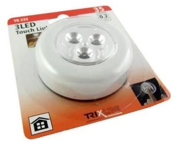 Baterie Centrum LED Nocne światło dotykowe LED/0,2W/3xAAA bílá