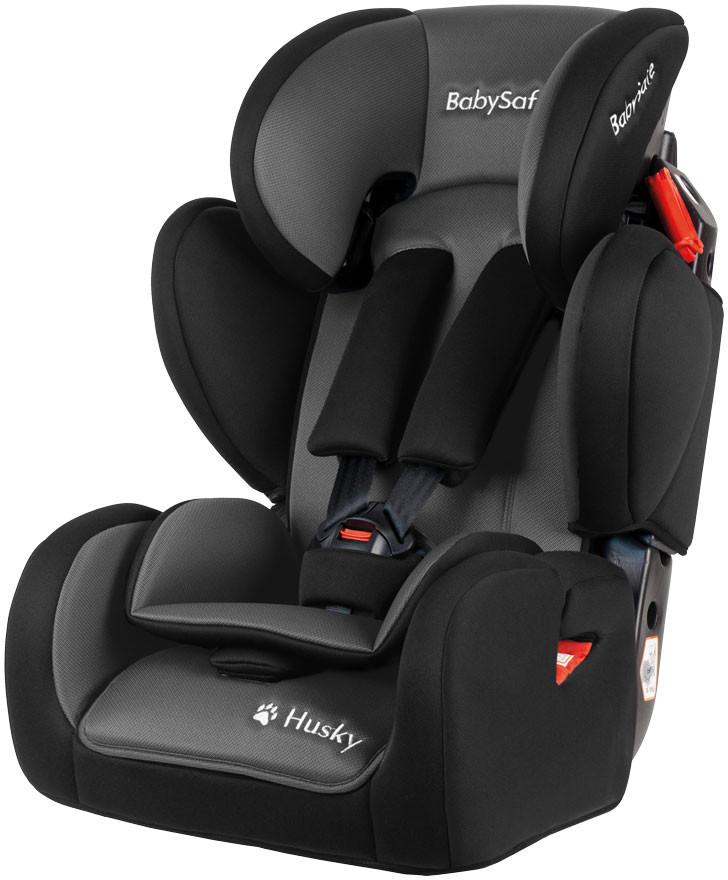 BabySafe Husky Sip 9-36 kg  Black Grey