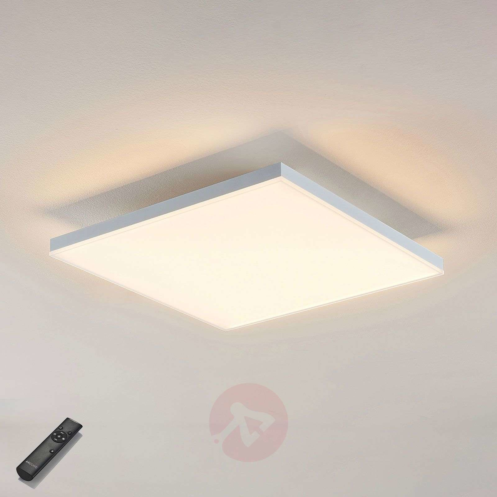 Lampenwelt com Panel LED Blaan CCT z pilotem 39,5 x 39,5cm