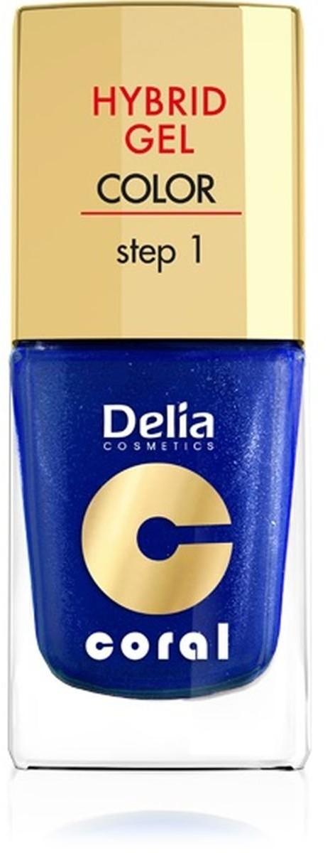 Delia Cosmetics Cosmetics, Coral Hybrid Gel, emalia do paznokci 29, 11 ml