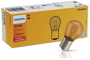 Philips Żarówka Philips 12V 21W PY21W BAU15s pomarańczowa X13-3311