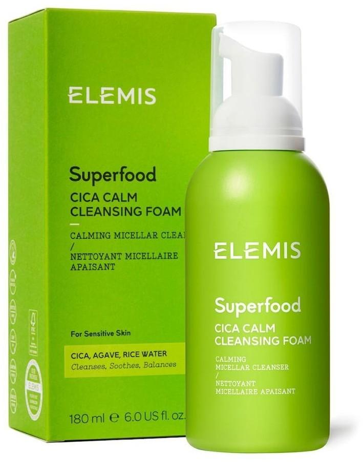 ELEMIS ELEMIS Superfood Kojąca pianka do mycia twarzy Superfood CICA 180 ml