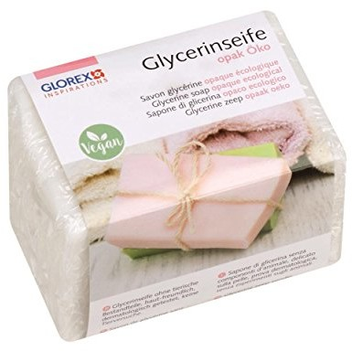 Glorex GmbH glorex 61600130gliceryna mydła, nieprzezroczyste, 5.5x 5.5x 8cm 6 1600 130