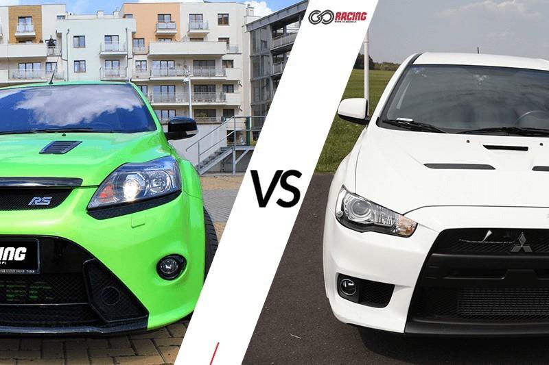 go racing Jazda Mitsubishi Lancer vs Ford Focus RS : Ilość okrążeń - 12, Tor - Tor Białystok, Usiądziesz jako - Kierowca
