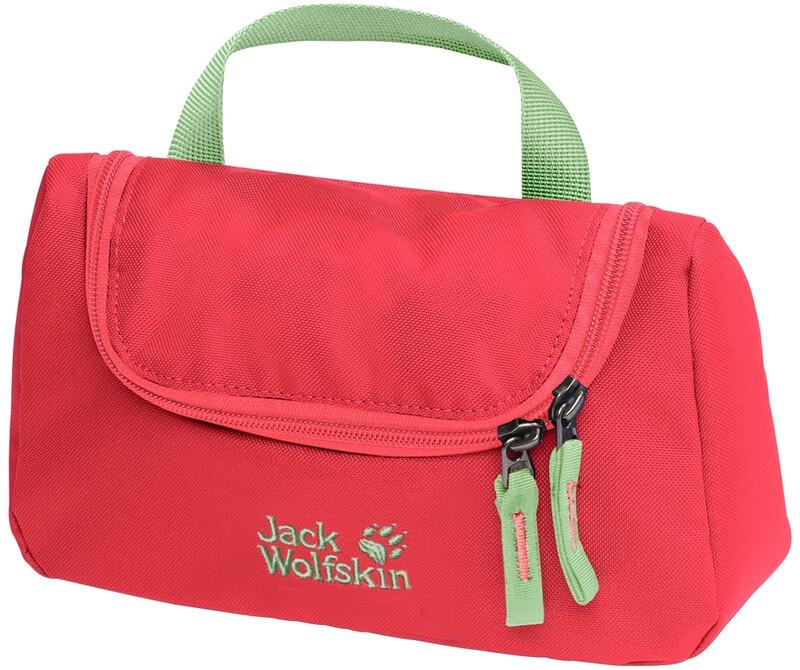 Jack Wolfskin Washroom Kosmetyczka Dzieci, tulip red 2020 Kosmetyczki 8002512-2058