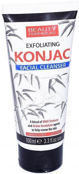 Beauty Formulas Beauty Formulas Złuszczający żel oczyszczający do twarzy Konjac 100ml
