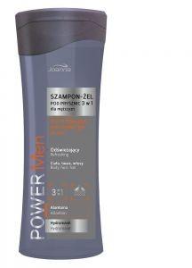 Joanna Power Men odświeżający szampon-żel pod prysznic 3w1 dla mężczyzn 300ml