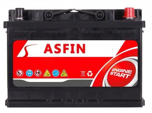 ASFIN 12V 60Ah 570A (EN) P+ AS60