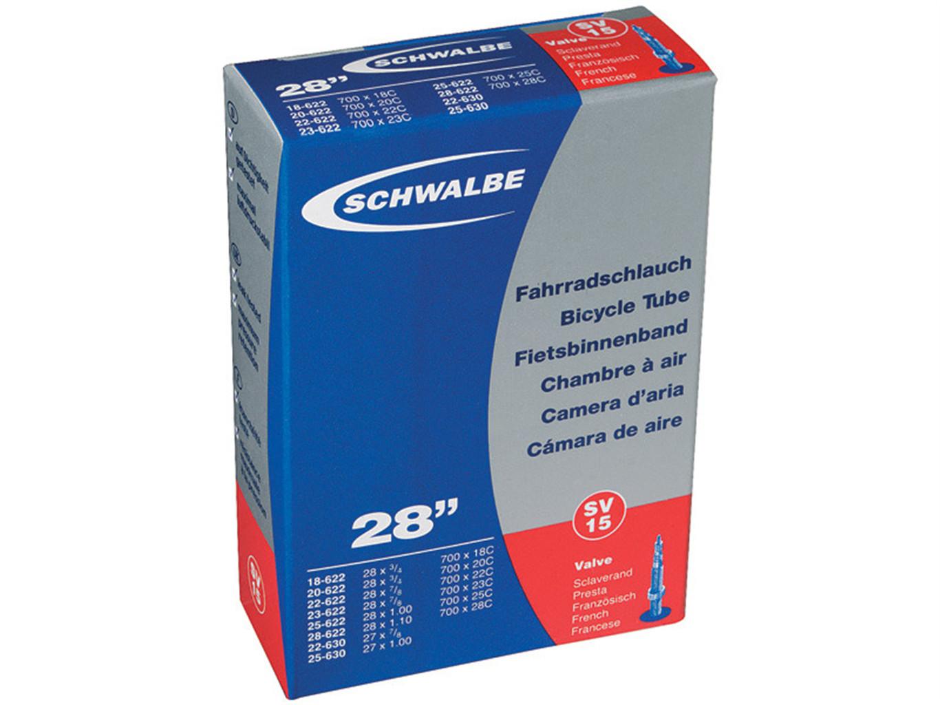 Accent SCHWALBE Standard 28 cali / Długość wentyla: 40 mm / Rozmiar koła: 28