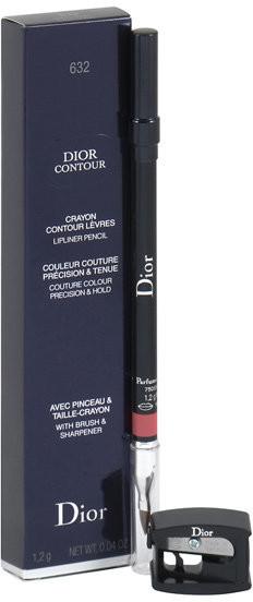 Dior Christian Christian Contour Lip Liner, konturówka do ust 632 Corail Soleil, 1,2 g