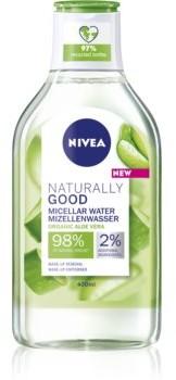 Nivea Naturally Good woda micelarna z aloesem 400 ml