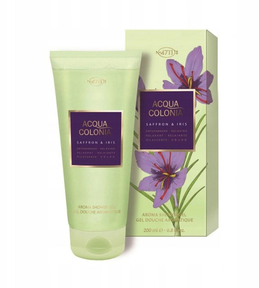 4711 Acqua Colonia Saffron Iris żel 200ml
