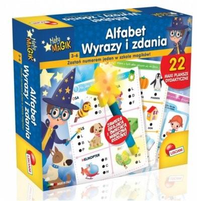 Lisciani Giochi Magik Alfabet, Wyrazy i Zdania 304-PL61242
