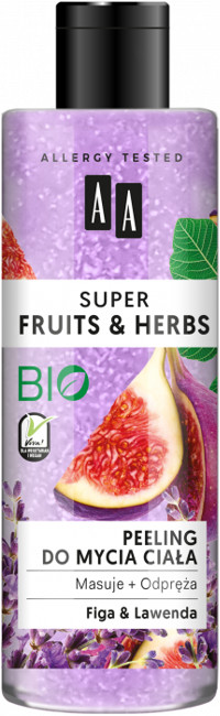 Oceanic Super Fruits&Herbs Peeling do mycia ciała figa/lawenda 200ml 52809-uniw