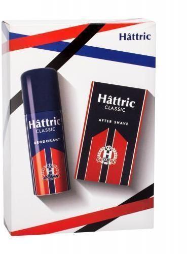 Hattric Classic zestaw Dezodorant 150 ml + Woda po goleniu 100 ml dla mężczyzn