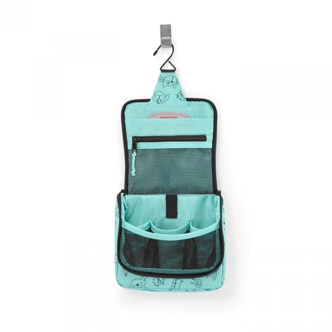 Reisenthel Kosmetyczka dla dziecka Toiletbag, zielona, 18,5x16x7 cm