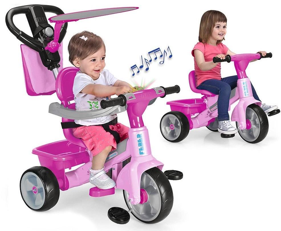 Feber Baby Plus Music Różowy 3w1