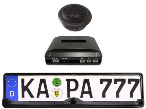 STEP1 Step1 czujniki parkowania w ramce tablicy rejestracyjnej, model RP101 RP101