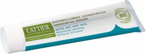 CATTIER (kosmetyki) Pasta do zębów remineralizująca z glinką i miętą EKO - Cattier - 75ml BP-3283950040020