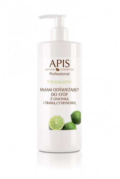 Apis Professional Fresh Lime terApis balsam odświeżający do stóp z limonką i trawą cytrynową 500 ml