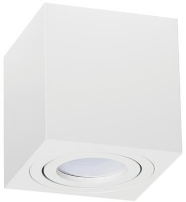 Kobi Oprawa oprawka led halogenowa ruchoma kwadratowa kolor biały OH37L 8691 8691