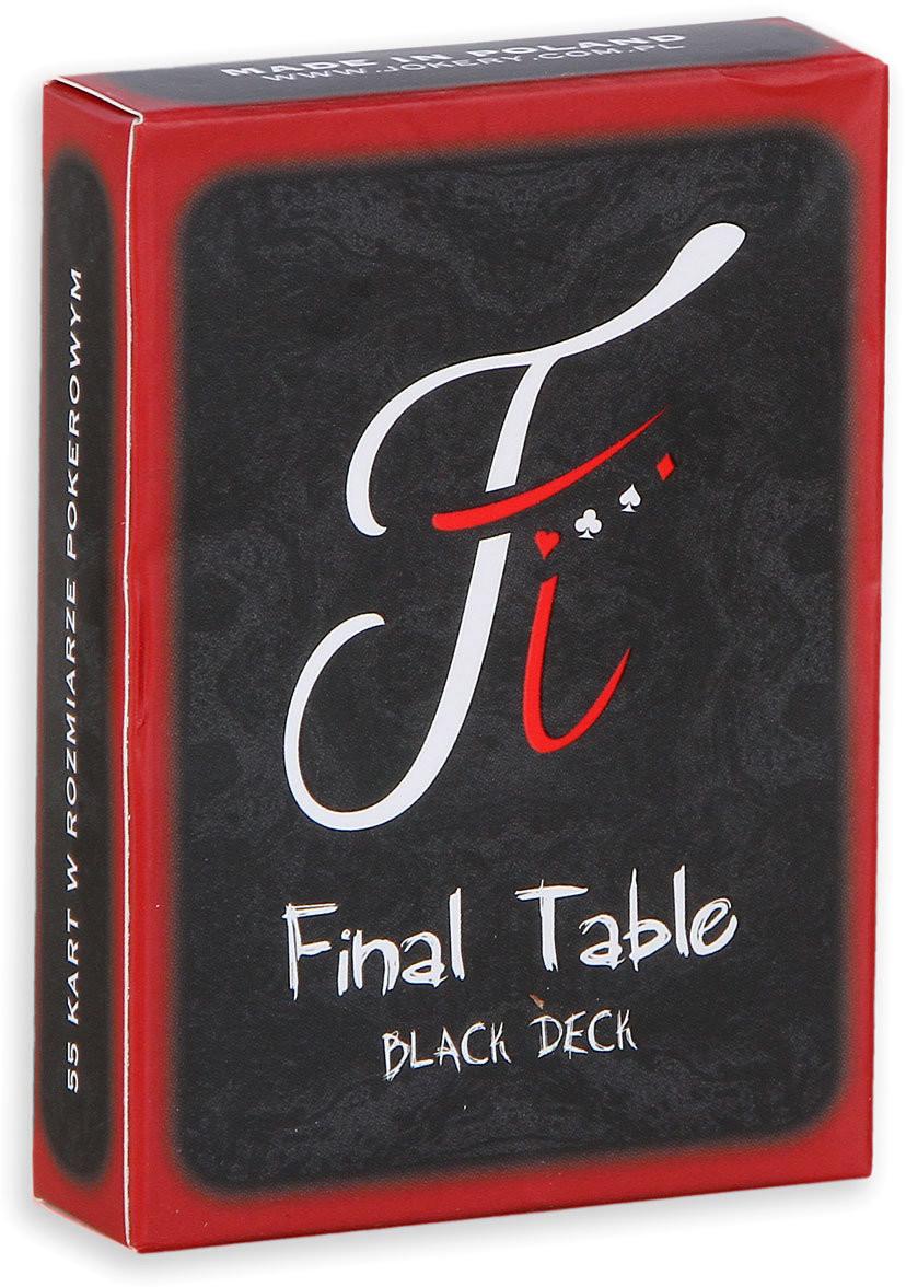 Fournier Karty Final Table Black Deck