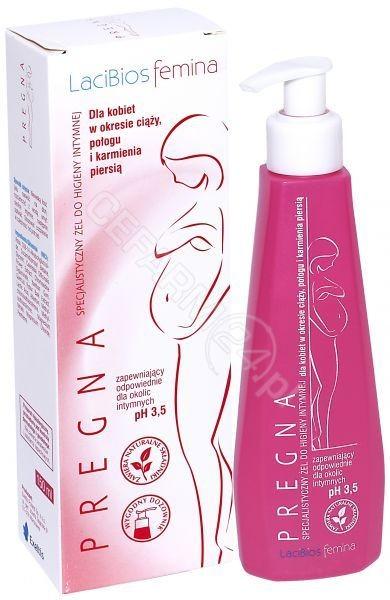 EXELTIS Lacibios femina pregna specjalistyczny żel do higieny intymnej 150ml