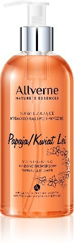 Allverne Natures Essences Mydło do rąk i pod prysznic Papaja-Kwiat Lei 300ml