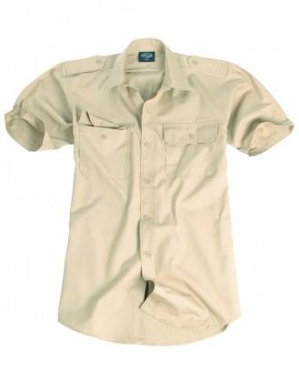 Mil-Tec Koszula tropikalna z krótkim rękawem 10934004 Koszula tropikalna z krótkim rękawem 10934004 rozm. M