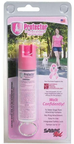 SABRE Security Equipment Corporation Gaz pieprzowy na Psy Protector Dog SRP-NBCF-KR-02 Różowy RMG SRP-NBCF-KR