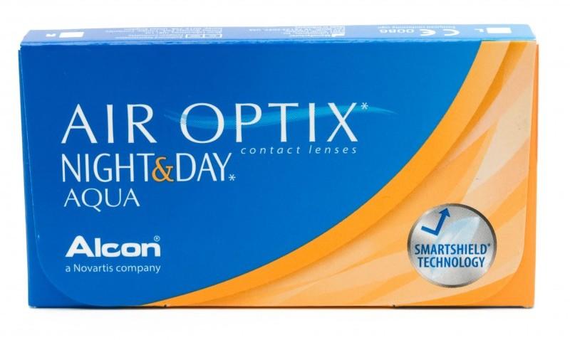 Alcon Air Optix Night & Day Aqua 6 szt.
