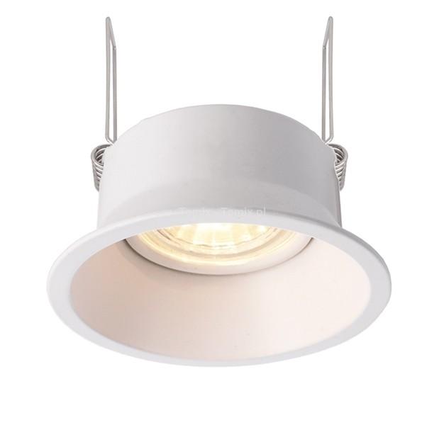 Tomix.pl Lampa do wbudowania Auva round kol biały D110005)