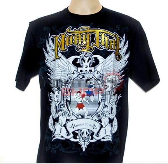 Born to be Muay Thai T-shirt męski PEEN NOK Born to be Muay Thai