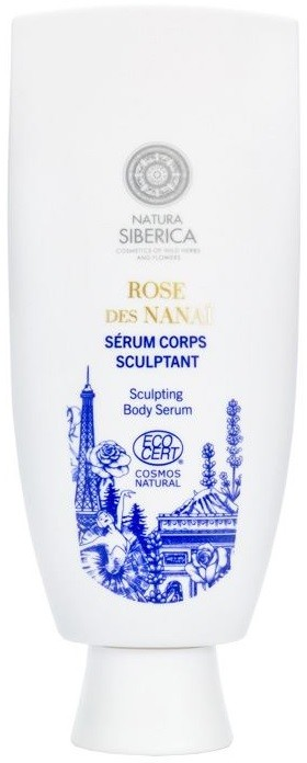 Natura Siberica Rose Des Sculpting Body Serum 200 ml Ujędrniające serum do ciała Hydrolat z Róż Rose de Grasse&Jałowiec Siberica LETNIA WYPRZEDAŻ DO 80%