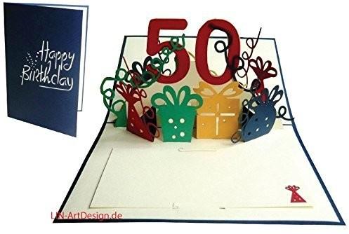 Lin lin Pop Up 3d kartka z życzeniami Kartka urodzinowa, 18. urodziny 18impreza, dziewcząt, czerwony (nr 17) 17
