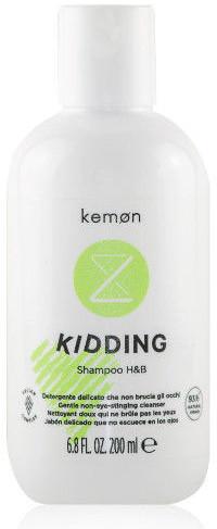 Kemon Liding Kidding Shampoo H&B szampon do włosów i ciała dla dzieci 200 ml KL00600