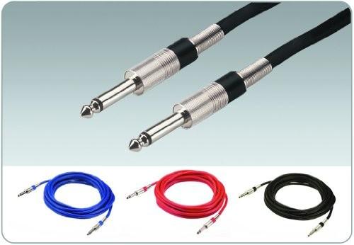 IMG Stage Line MCC-50/RT instrument przewód (6,3MM wtyczka jack,/) 0,5m Czerwony O60520