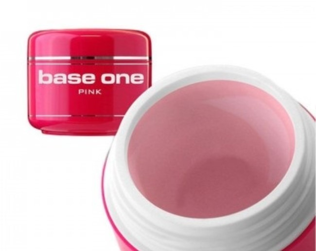 Silcare Gel Base One Pink 50g