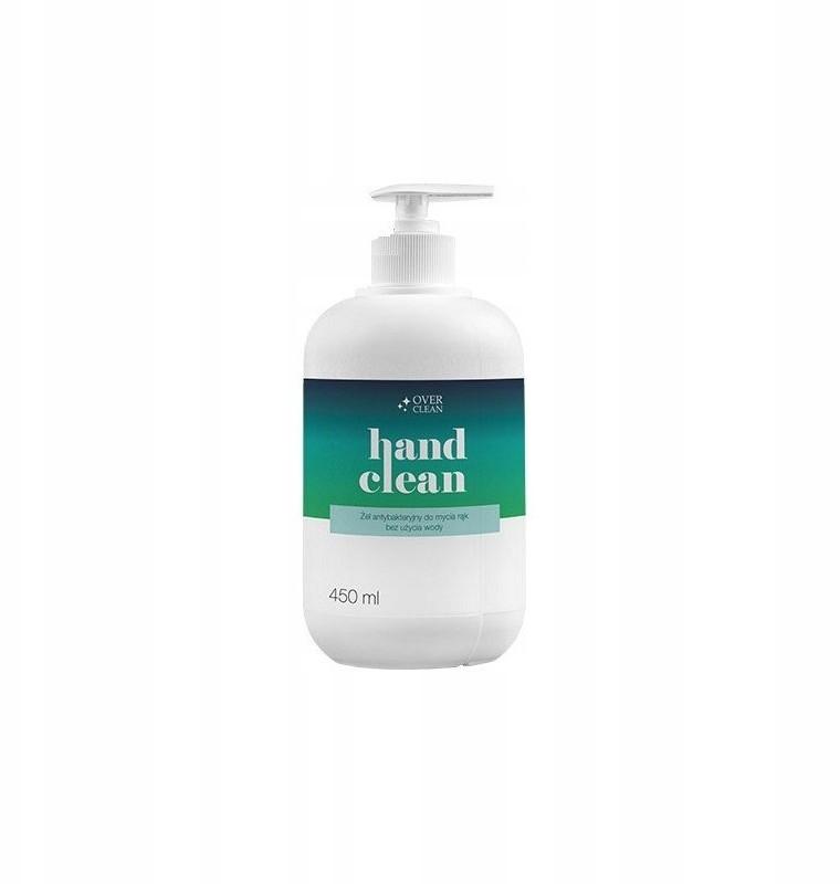 Clean Żel do mycia rąk Over bez użycia wody 450ml