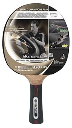 Donic Schildkröt rakietki do tenisa stołowego Waldner 1000 z technologią ABP i Ergo uchwytu, drewnianych/naturalny, One Size, 751801 751801