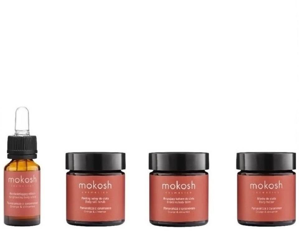 Mokosh Travel Set Pomarańcza z cynamonem zestaw podróżny