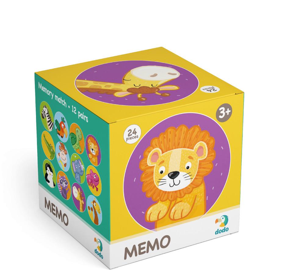 TM Toys DODO Minigra memory Dzikie zwierzęta