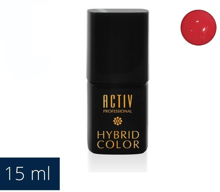 ACTIVESHOP LAKIER HYBRYD UV LED 17 SODA POP PINK SOCZYSTY RÓŻ 15ml AS_104030