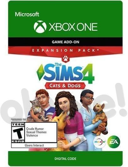 The Sims 4 Psy i Koty DLC (GRA XBOX ONE) wersja cyfrowa