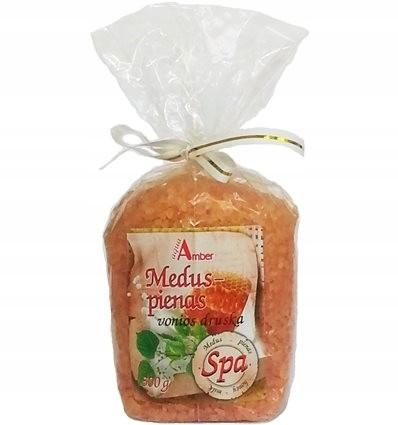 Aqua Amber Sól do Kąpieli Spa Miód i Mleko 300 g