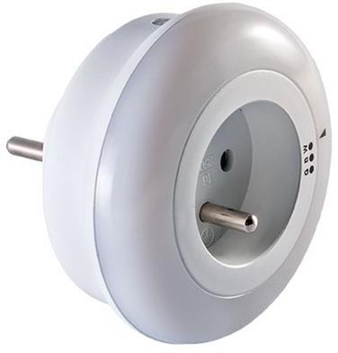Orno OR-LA-1404 Lampka nocna LED z gniazdem 230V
