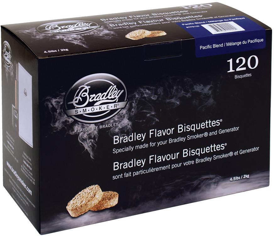 Bradley Brykiet Flavor Bisquettes 120 Pacific Blend