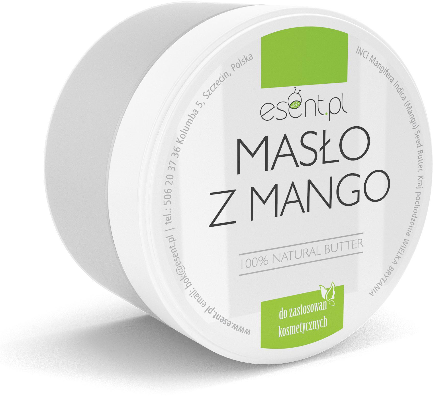 Mango Masło z 200ml Nawilżanie Skóry i Włosów