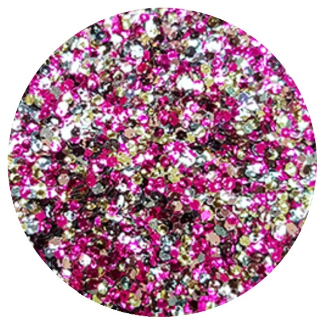 Vanity Brokat Multicolor Hexagon Exclusive 06 780606
